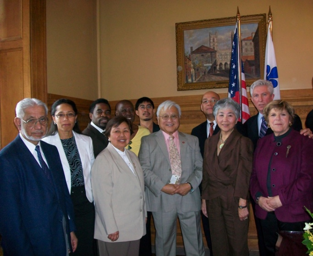 The Hon. Mike Honda at City Hall