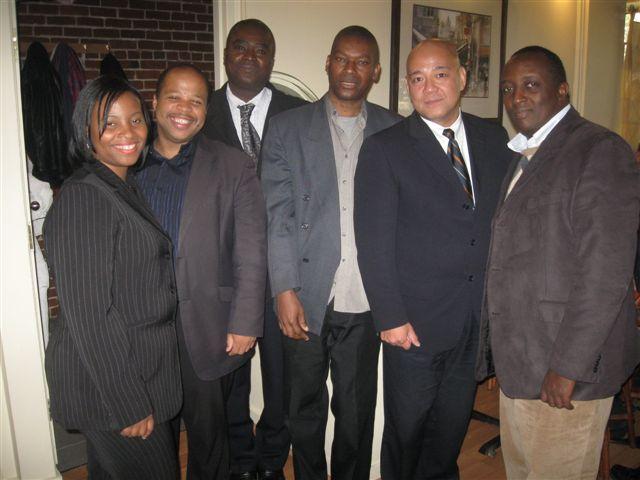 Guerline Rigaud; Louis-Georges Tin; Romiale Anthony; Roger Petit-Frère; Fo Niemi et un invité